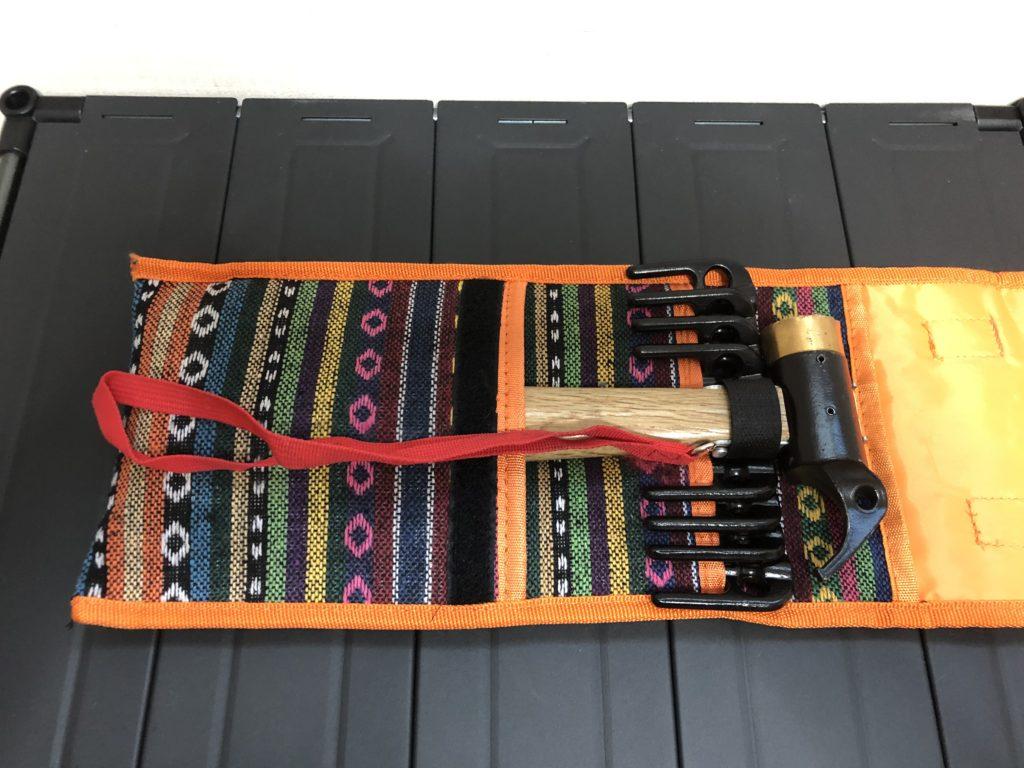 Eletorot ペグハンマー(収納袋付き)